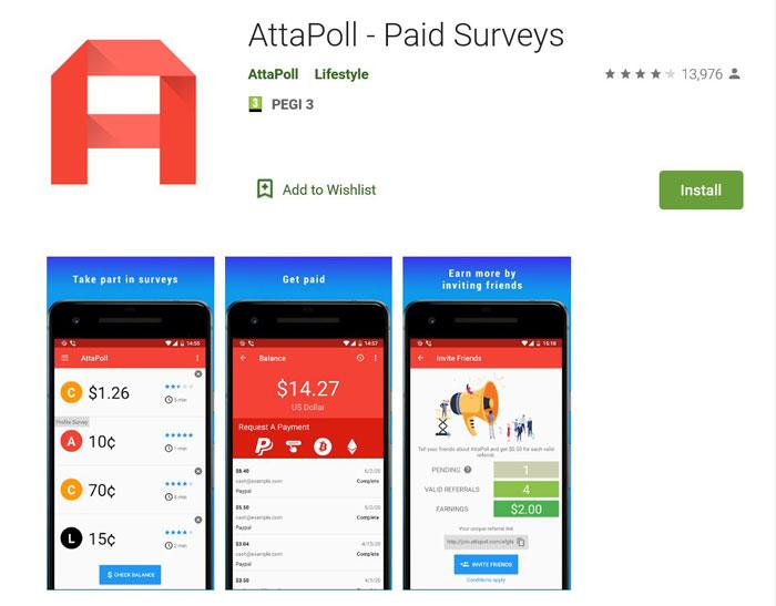 Attapoll Telefon Android Instalare