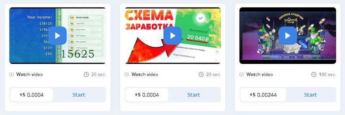 Obține un venit pasiv cu videoclipuri