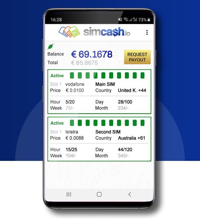 trimite SMS gratuite cu Simcash