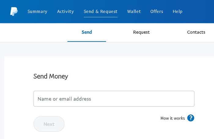 trimite si primește bani cu PayPal