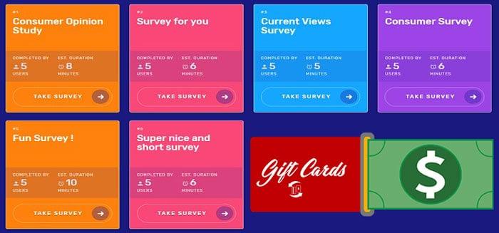sondaje plătite pe SurveyTime
