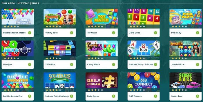 joaca jocuri online cu FunZone