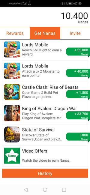 jocuri disponibile