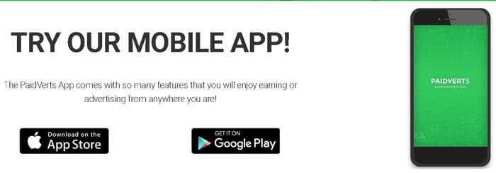 aplicația Paidverts