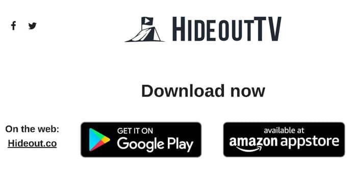 vizionarea gratis online cu Hideout.TV
