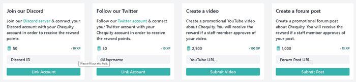 micro joburi online cu Chequity