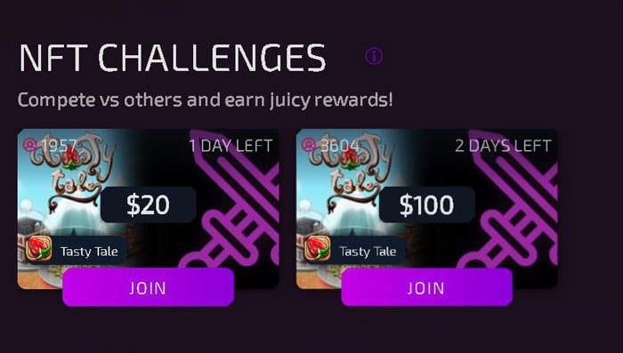 jocuri NFT provocări