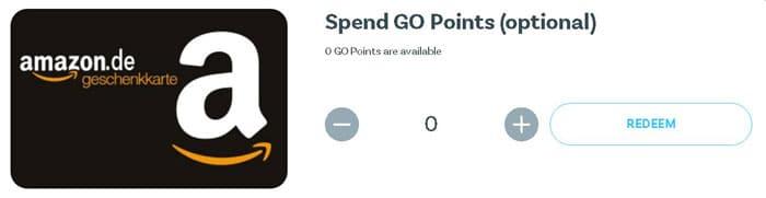 utilizare puncte Go